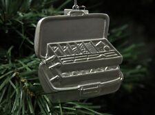 Fishing, Fisherman Tackle Box Christmas Ornament