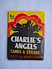 1977 TOPPS *CHARLIE'S ANGELS SERIES 1* SEALED WAX PACK **RARE**