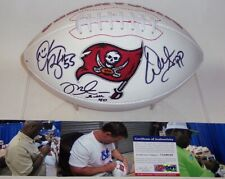 3b03adeb1 MIKE ALSTOTT DERRICK BROOKS WARREN SAPP SIGNED TAMPA BAY BUCS LOGO FOOTBALL  PSA