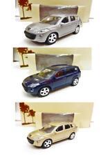 """Lot de 3 Peugeot 4007 (Gris, Marine, Sable) 1/64 """"3 Inches"""" NOREV NEUF"""