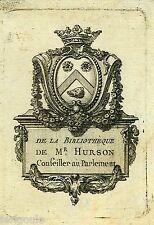 EX-LIBRIS de Charles Martin HURSON. Provence.
