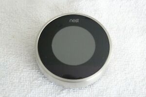 Nest 2nd Gen Learning Stainless Steel Programmable Thermostat - Model 02A