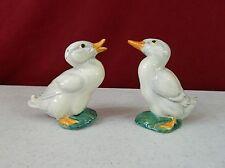 Gort Bone China Company Mallard Ducks Salt & Pepper Rare Non Production Pieces
