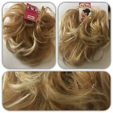 Top Hair Scrunchie BLONDE MIX Large Scrunchie, for Updo Bun or Ponytail