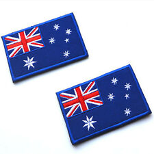 National Australian Australia Flag Sew Cloth Patch Embroidered Badge 8x5cm