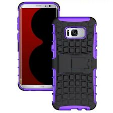 Carcasa Híbrida 2teilig Exterior Púrpura Funda para Samsung Galaxy S8 Plus G955F