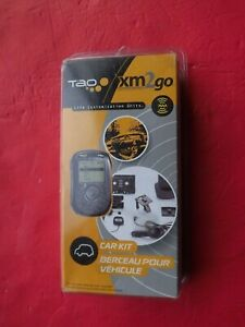 New sealed TAO Electronics XM2GO Car Kit only--no receiver