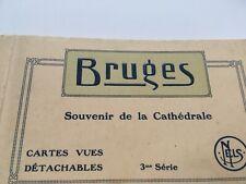 More details for bruges souvenir de la cathedrale cartes vues detachables eglise saint sauveur