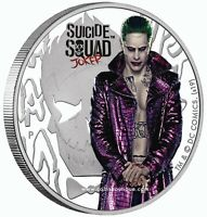 Suicide Squad Joker 1oz Silver Proof Coin Tuvalu 2019 first releas