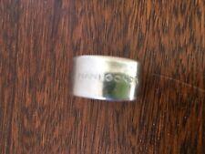 Anello a fascia in argento Pianegonda mis. 55 originale
