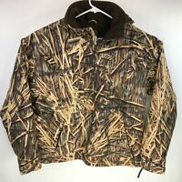 Drake Waterfowl Systems Realtree Camo 1/4 Zip Fleece Pullover Men's XL