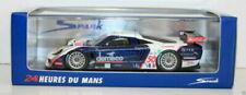 Voitures des 24 Heures du Mans miniatures bleus Spark