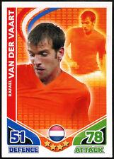Rafael Van Der Vaart Holland Topps 2010 Match Attax England Trade Card (C397)