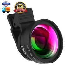 Cell Phone Camera Lens ZPTONE 2 in 1 Clip-on Lens Kit 0.45X Super Wide Angle 12.