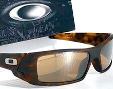 NEW* Oakley GASCAN Matte Tortoise w Tungsten Golf lens lens Sunglass 9014-16