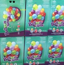 Jumbo Helium 50 X Balloons Bulk Kit Balloon Time Gas Tank Bottle Inflater Ribbon
