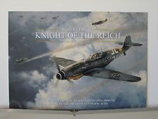 Knight of the Reich Bf109s Gen Rall Aces Robert Taylor Aviation Art Brochure