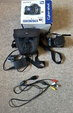 Sony Cyber-shot DSC-HX1 9.1MP Digital Camera - Black  with bag  and boxed
