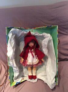 Rarissima bambola Lenci Cappuccetto Rosso originale nuova in box da collezione