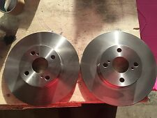 TOYOTA LEVIN 1.6i Coupe BZR,BZV AE111 95>00 FWD Rear Brake Discs Pair brand new