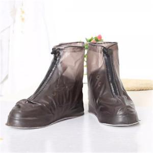 Unisex Reusable Rain Boots Transparent Waterproof Anti-slip Shoes Cover