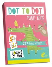 DOT TO DOT PUZZLE BOOK 264 PAGES BIG A4 SCHOOL CHILD CHILDREN KIDS COLOURING