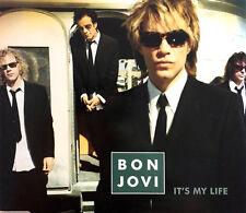Bon Jovi Maxi CD It's My Life - Promo - UK (M/EX+)