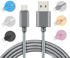 2m schwarz USB C Kabel Ladekabel Laden Handy Tablet Samsung, LG, Huawei, Sony