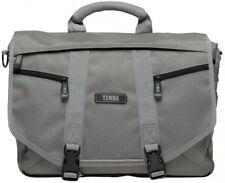 Tenba 638-228 Messenger Small Bag For Camera/Laptop - Platinum