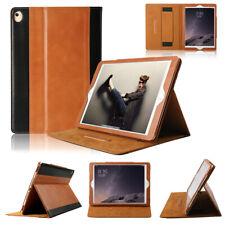 Boriyuan iPad 9.7 Premium Magnetic 100% Genuine Leather Case Folio Book Cover