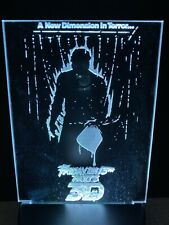 Friday The 13th 3D Light Up Mini Poster By Chainsaw Graphics Myers Jason Vorhees