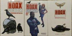 Hoax Hunters graphic novel TPB lot #1-3 COMPLETE - Moreci signed/remarked -Image