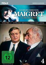 Maigret Vol. 4 * DVD weitere 6 Folgen mit Bruno Cremer Pidax Neu