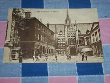 Old Postcard ?? London The Guildhall London