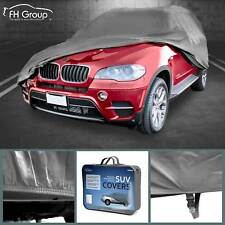 Car Cover Water Resistant Breathable UV Snow Heat Dust Rain Resistant Medium