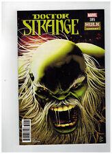 Doctor Strange #385 1st Printing - Hulk Variant Cover / 2018 Marvel Comics
