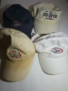 US OPEN 2007. 2008, 2011 NYC Championship and 2012 Tennis Cap Hat
