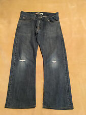 """Mens Levis 512 Bootcut Jeans Red Tab Button Fly 34"""" Waist, 27"""" Leg. Vintage"""