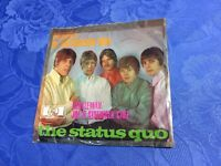 "STATUS QUO (7"" 45) PICTURES OF MATCHSTICK MEN [1968 PYE HIT TON **GERMAN PRESS]"
