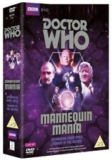 DR WHO 051 + 055 (1970-71) - MANNEQUIN MANIA - TV Doctor Jon Pertwee  NEW DVD UK