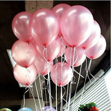 100pcs Colorful Pearl Latex Balloon Celebration  Birthday Party Wedding 10 inch