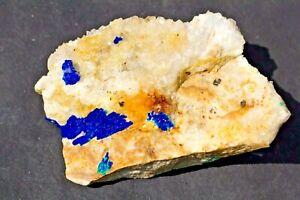 Linarite:Blanchard Mine,Hansonburg Dist..Bingham,Socorro Co. NM,small cabinet pc