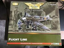 Corgi Aviation Archive Flight line Messerschmitt Bf109G III./JG 11 Hackl US34907