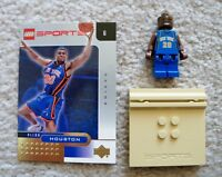 LEGO Basketball - Rare - NBA New York Knicks - Allan Houston #20 w/ Gold Card