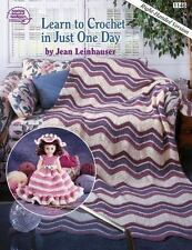 Learn to Crochet in Just One Day: Right-Handed Version Book 1146