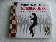 Michael Jackson - Number ones - Rare Hong Kong only 3 CD Wooden Box set /sealed