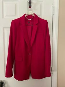 Womans White House Black Market Magenta Blazer - Size  8
