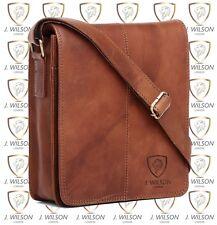 92c5f573524e Mens Leather Shoulder Bag DESIGNER Ladies Satchel Cross Body Work Messenger  Case