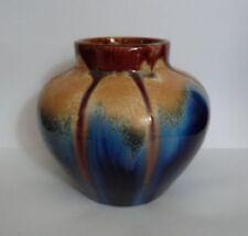 Blue European Art Pottery Vases