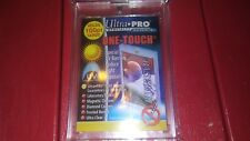 4 New Ultra Pro One Touch Magnetic Card Holders 100 Point For Jersey & Thick